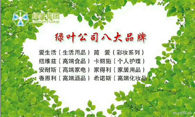 绿叶公司八大品牌