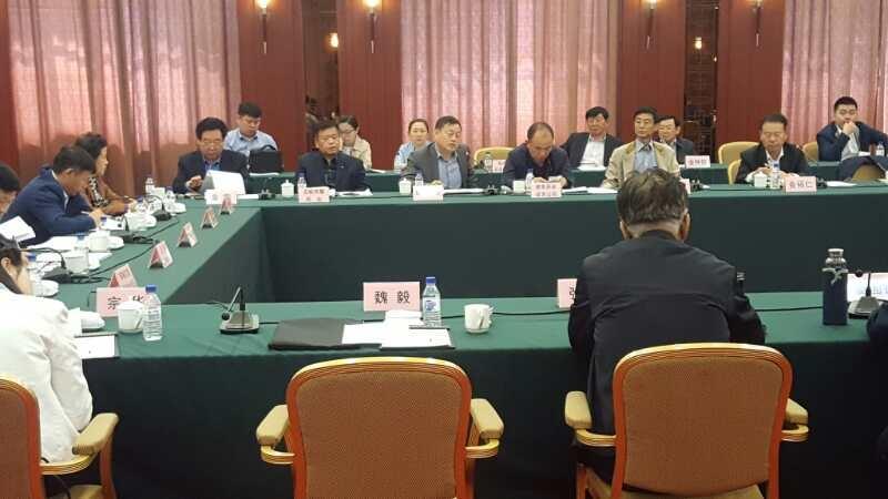 金立华董事长受邀参加省企联企协调调研组座谈会