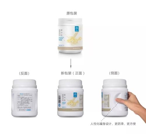琪尔康发布蛋白粉固体饮料产品包装升级通知