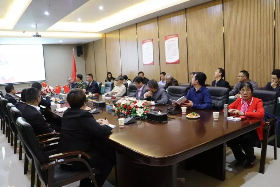广东省直属机关老年协会莅临金科伟业参观、学习