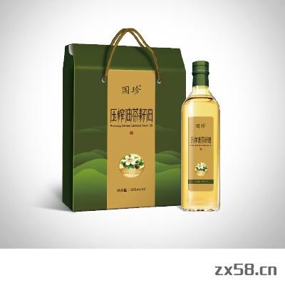 国珍压榨油茶籽油