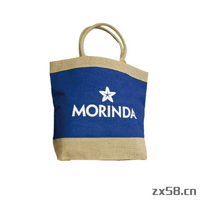 大溪地诺丽Morinda Logo手提麻布