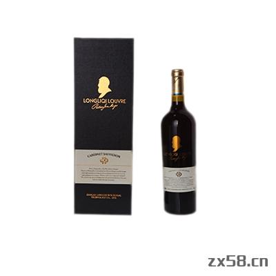 隆力奇泸浮酒庄干红葡萄酒(方盒)