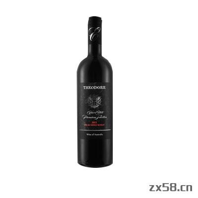 长青西奥多BIN 08 色拉子梅洛干红葡萄酒