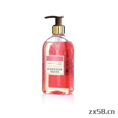 欧瑞莲花漾玫瑰精油洗手液
