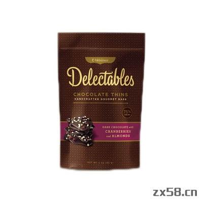 美乐家黑巧克力蔓越...