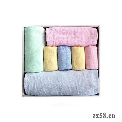铸源天然竹纤维毛巾...
