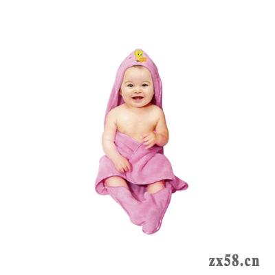 安然宝宝浴巾
