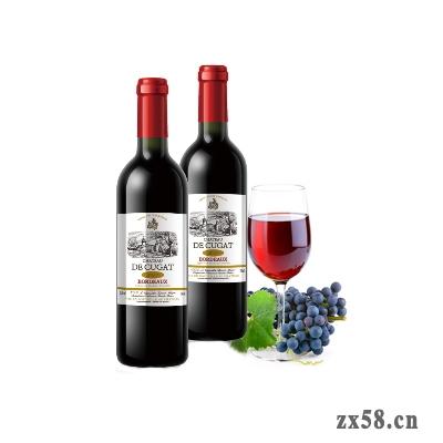 福瑞达康妆大道古佳城堡红葡萄酒