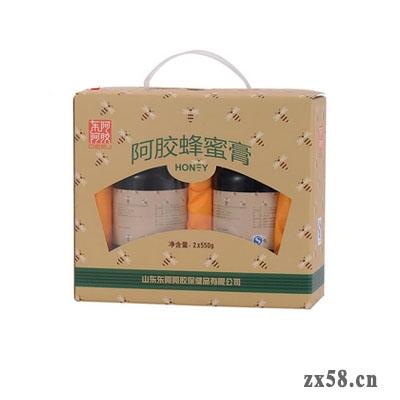 东阿阿胶阿胶蜂蜜膏(550g*2瓶)新装