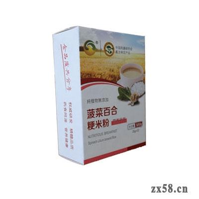 金木菠菜百合粳米粉