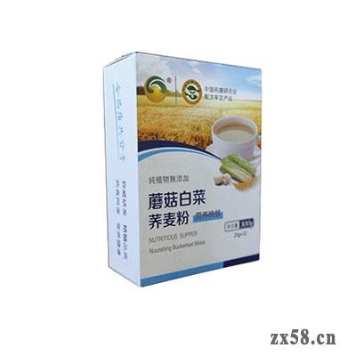 金木蘑菇白菜荞麦粉