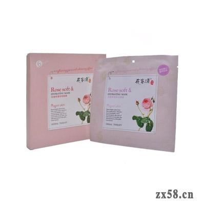 通和花容道玫瑰保湿柔润面膜