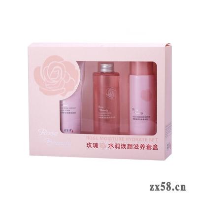 通和花容道玫瑰水润焕颜滋养套盒