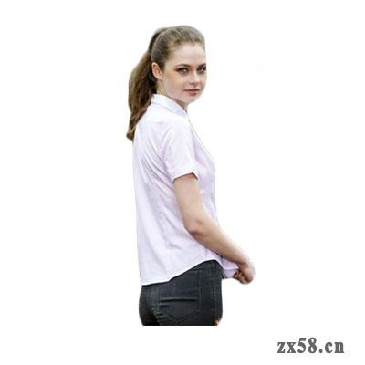 绿之韵白领女士短袖衬衫