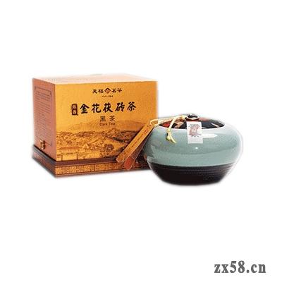 天美仕金花茯砖茶