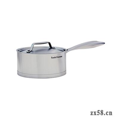 天美仕单柄奶锅