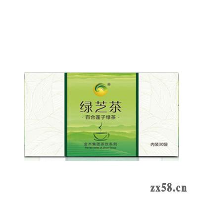 金木百合莲子绿茶(绿芝茶)