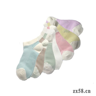 绿叶家得丽女式船袜...