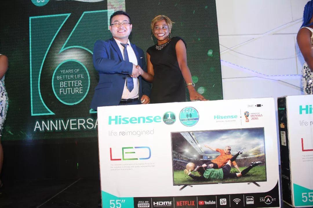 隆力奇尼日利亚分公司六周年大会隆重举行
