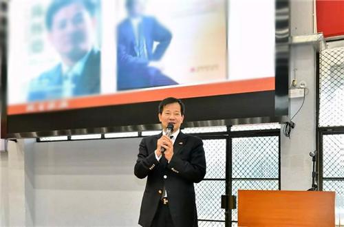 广雅视频邀请富迪陈怀德回和服讲课腰封中学母校图片