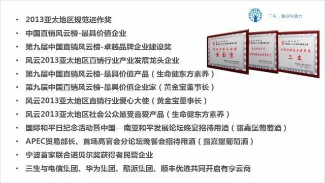 三生直销团队-浙江三生
