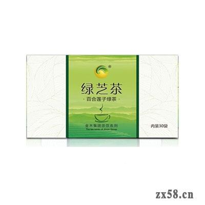金木百合莲子绿茶(绿之茶)