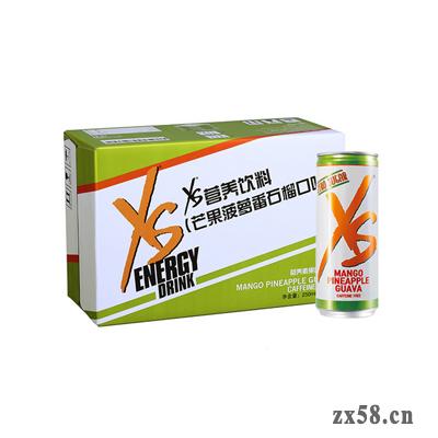 安利XS®营养饮料(芒果菠萝番石榴口味-不添加咖啡因)