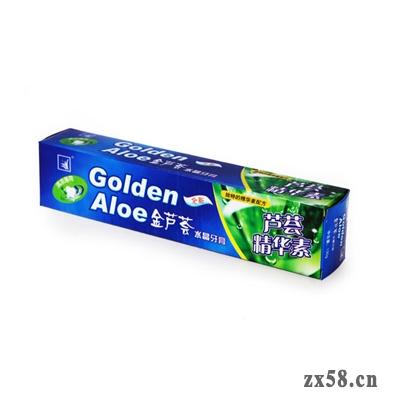 荟生135g金芦荟水晶牙膏