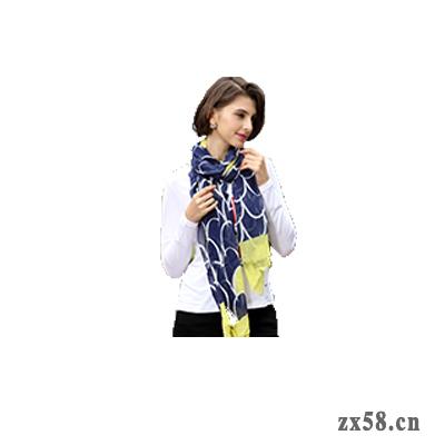 绿之韵竹纤维女士围巾(新品)