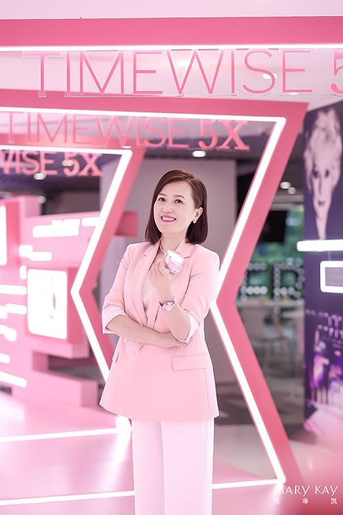 玫琳凯秘龄系列TIMEWISE 5XTM魅力发布